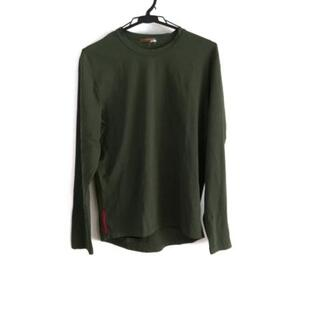 プラダ(PRADA)のプラダスポーツ 長袖Tシャツ サイズM(Tシャツ/カットソー(七分/長袖))