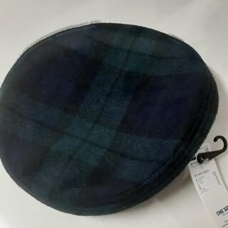 GU - GU チェック ベレーハット ベレー帽