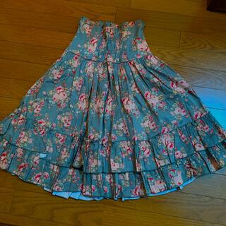 ボディライン(BODYLINE)のロリータスカート(ひざ丈スカート)