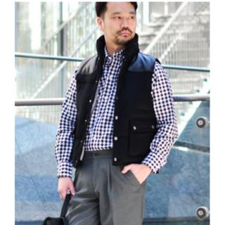 インディヴィジュアライズドシャツ(INDIVIDUALIZED SHIRTS)のINDIVIDUALIZED SHIRTS CHECK BLACK 15-32(シャツ)