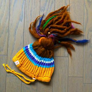 チャイハネ(チャイハネ)の【未使用】チャイハネ キッズニット帽(アミナコレクション)(帽子)