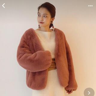 ラグナムーン(LagunaMoon)のラグナムーン エコファーコート☆(毛皮/ファーコート)