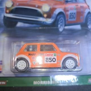 ビーエムダブリュー(BMW)のホットウィール モーリスミニ ミニクーパー mini cooper(ミニカー)