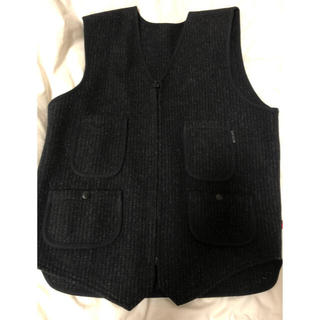 ウールリッチ(WOOLRICH)のwool rich  wool vest hunting 古着(ベスト)