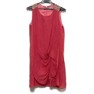 グレースコンチネンタル(GRACE CONTINENTAL)のダイアグラム ドレス サイズ38 M美品  -(その他ドレス)