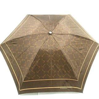 ジバンシィ(GIVENCHY)のGIVENCHY(ジバンシー) 折りたたみ傘 -(傘)