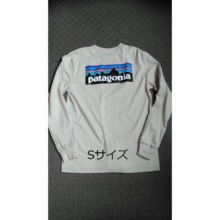 patagonia - パタゴニアロンT 長袖 ロンT ライトカーキ ベストセラー かわいい S