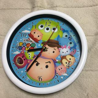 ディズニー(Disney)のDisney TSUM TSUM  ウォールクロック(掛時計/柱時計)