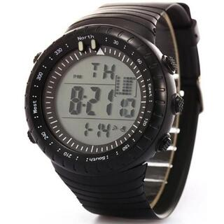 ■2020新入荷!■ダイバーズウォッチホワイトフェイス 50M防水(腕時計(デジタル))