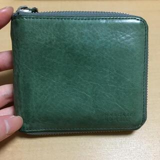 マーガレットハウエル(MARGARET HOWELL)の【MARGARET HOWELL】二つ折り財布 (財布)
