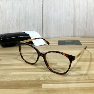 シャネル(CHANEL)のシャネル メガネ 鼈甲フレーム 5448(サングラス/メガネ)