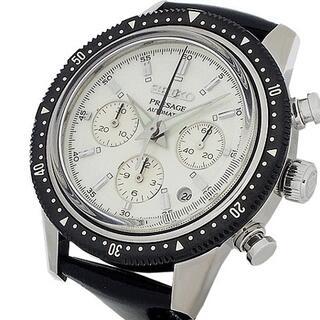 セイコー(SEIKO)のセイコー プレザージュ クラウン クロノグラフ 55周年記念 自動巻(腕時計(アナログ))