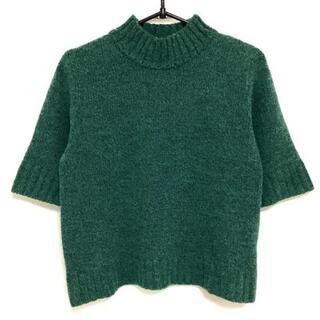 カルヴェン(CARVEN)のカルヴェン 半袖セーター サイズ9 M -(ニット/セーター)