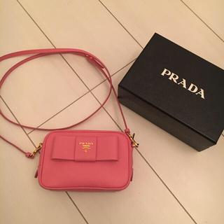 プラダ(PRADA)のPRADA ピンク ショルダーバッグ(ショルダーバッグ)