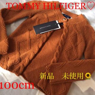 TOMMY HILFIGER - 新品 未使用☆ TOMMY HILFIGER トミー ニット 100cm
