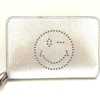 アニヤハインドマーチ(ANYA HINDMARCH)のアニヤハインドマーチ 2つ折り財布 レザー(財布)