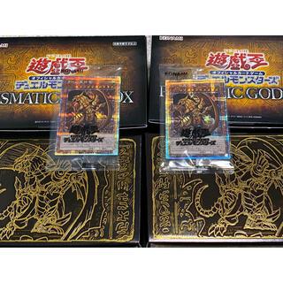 ユウギオウ(遊戯王)の遊戯王 PRISMATIC GOD BOX  ゴッドボックス ラー二箱 おまけ付(Box/デッキ/パック)