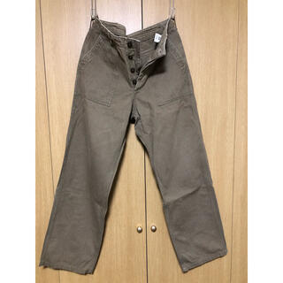 WAREHOUSE - ウエアハウス Lot 1086 HBT MILITARY PANTS 33インチ