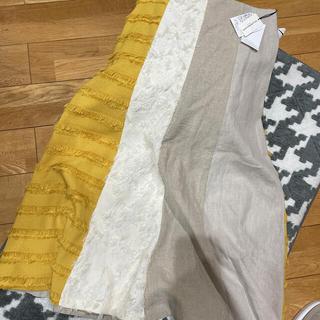ガリャルダガランテ(GALLARDA GALANTE)のGALLARDAGALANTE 麻 スカート(ロングスカート)