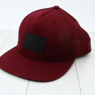 コーチ(COACH)の【新品・未使用】COACH コーチ 帽子 ボルドー F33774BUR 正規品(キャップ)