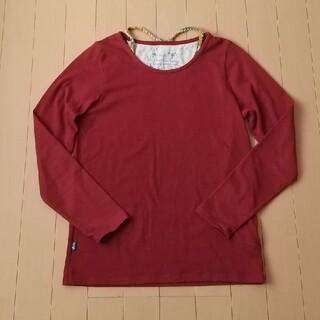 ラフ(rough)のrough えんじ色ロンT.(Tシャツ(長袖/七分))