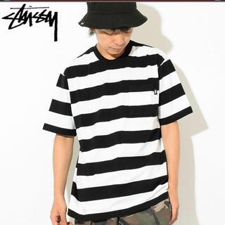ステューシー(STUSSY)のステューシー ボーダーTシャツ(Tシャツ/カットソー(半袖/袖なし))