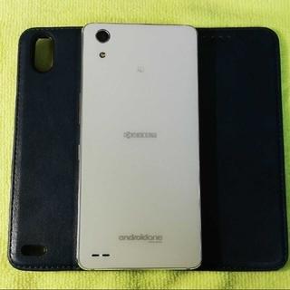 キョウセラ(京セラ)のAndroid One X3 White 3G/32G 制限○ジャンク(スマートフォン本体)