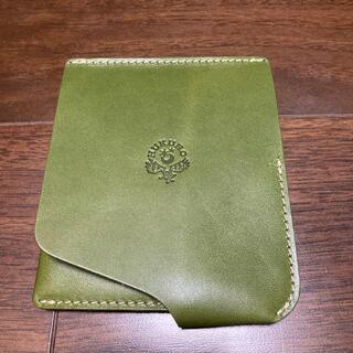 トチギレザー(栃木レザー)の【HUKURO】JITAN 栃木レザー二つ折り薄型本革財布(折り財布)