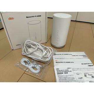 ファーウェイ(HUAWEI)のau speed wi-fi home L01s(PC周辺機器)