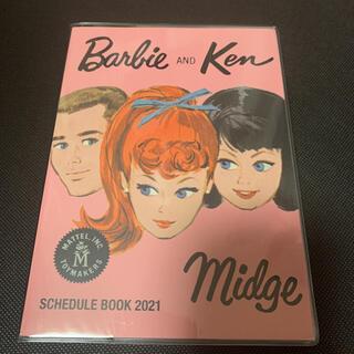 バービー(Barbie)の新品 バービー 手帳 スケジュール帳 Barbie(カレンダー/スケジュール)