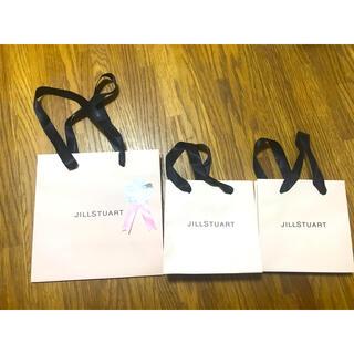 JILLSTUART - ジルスチュアート 紙袋 ショップ袋 3枚セット