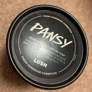 ラッシュ(LUSH)のパンジー ラッシュ ボディークリーム(ボディクリーム)