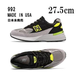 ニューバランス(New Balance)のNEW BALANCE M992 TQ グレー ブラック 27.5cm(スニーカー)