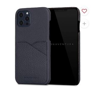 アップル(Apple)の【新品】ボナベンチュラ iPhone 12 Pro Max ネイビー(iPhoneケース)