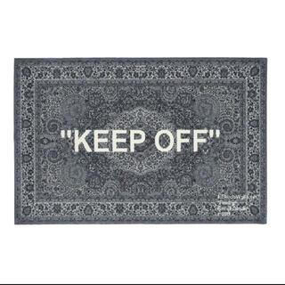 """イケア(IKEA)のIKEA VIRGIL ABLOH """"KEEP OFF""""イケア ラグ ヴァージル(ラグ)"""