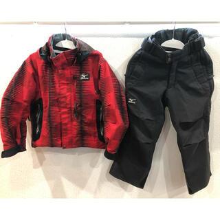 ミズノ(MIZUNO)のミズノ スキージャケットパンツ 120cm(ウエア)