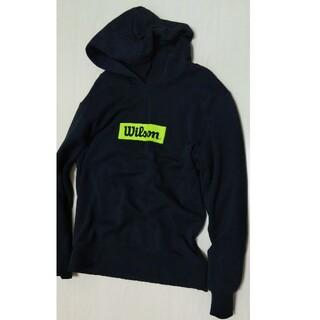 ウィルソン(wilson)のWilson パーカー 黒 150(Tシャツ/カットソー)