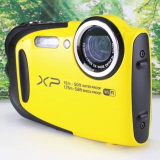 フジフイルム(富士フイルム)のFUJIFILM デジタルカメラ XP80 イエロー(コンパクトデジタルカメラ)