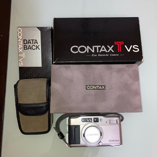 キョウセラ(京セラ)のコンタックス TVS データバック付(フィルムカメラ)