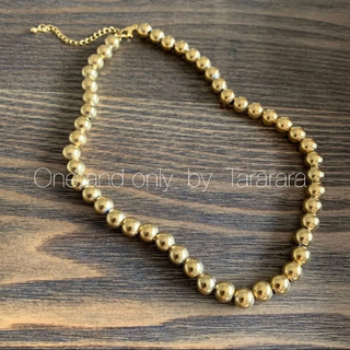 ●handmade ball necklace G● 新作!!(ネックレス)