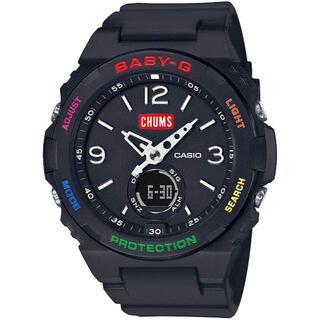 ベビージー(Baby-G)のCHUMS Baby-G BGA-260CH-1ADR 新品未使用(腕時計)