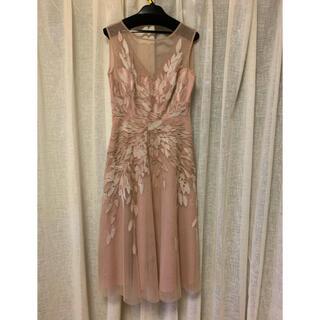 BCBGMAXAZRIA - 花柄刺繍 ワンピ BCBG チュール ドレス