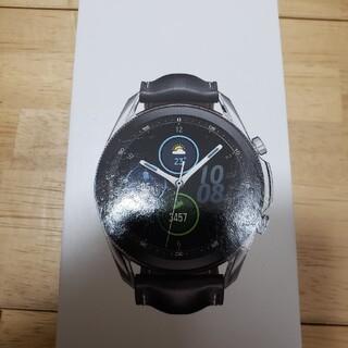 ギャラクシー(Galaxy)のGalaxy Watch3 Stainless Steel 45mmSilver(腕時計(デジタル))