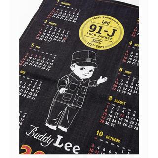リー(Lee)のLee デニムカレンダー 非売品(カレンダー/スケジュール)