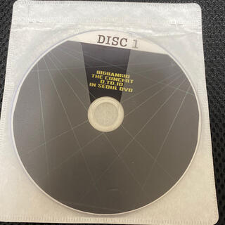 ビッグバン(BIGBANG)のBIGBANG 0.TO.10 IN SEOUL DVD(K-POP/アジア)
