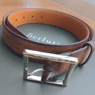 ベルルッティ(Berluti)のBerluti クラッシックレザーベルト 85 34(ベルト)