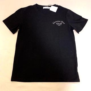 ディオール(Dior)の半袖黒Tシャツ(Tシャツ(半袖/袖なし))