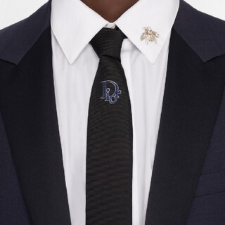 Christian Dior - 《最新作》Dior・Christian Dior・ネクタイ・メンズ・黒色