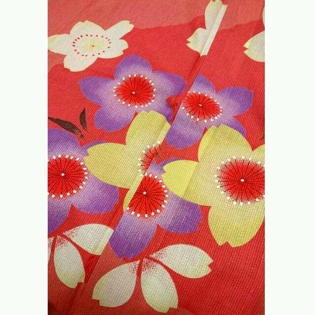 kumikyoku(組曲)(クミキョク)の組曲☆桜柄 浴衣のみ☆ピンク レディースの水着/浴衣(浴衣)の商品写真