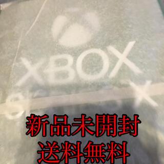 エックスボックス(Xbox)の【送料無料】【新品未開封】xbox series x Amazon特典エコバッグ(その他)